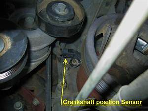 Ford F150 F250 Replace Crankshaft Position Sensor How To
