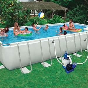 Piscine Hors Sol Metal : piscine hors sol quel mat riau choisir marie claire ~ Dailycaller-alerts.com Idées de Décoration