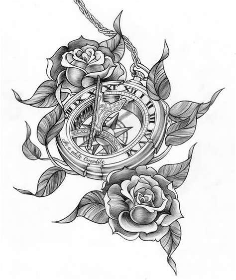 clock tattoo design ideas  pinterest clock tattoos pocket  tattoo design