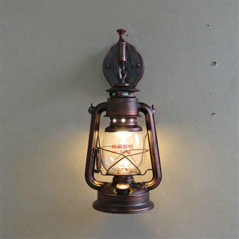fashion antique wall lights wrought iron vintage lantern