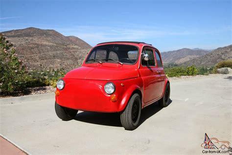Classic Fiat 500 Parts by 1971 Fiat 500 L Italian Classic Upgraded Motor Great