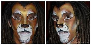 Lion Makeup Male - Mugeek Vidalondon