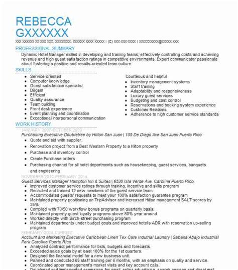 Purchasing Resume Sle by Purchasing Executive Resume Sle Executive Resumes