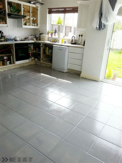 Floor Tile Paint For Bathrooms by How To Paint A Tile Floor And What You Should Think About