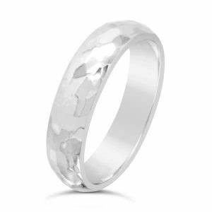 unusual wedding rings partnership rings platinum wedding rings With hammered platinum wedding ring