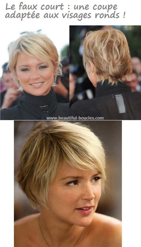 coupes coiffures visage rond cheveux boucles epais