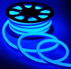50 Blue Led Outdoor Indoor Flexible Neon Rope Light