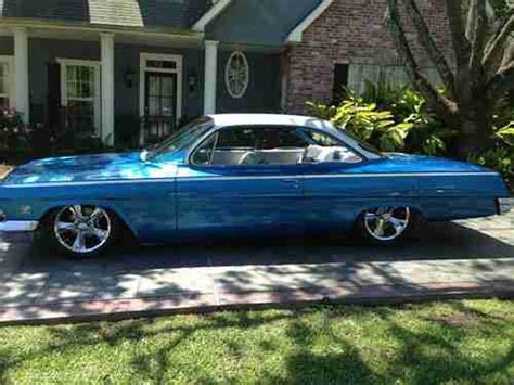 Purchase Used 1962 Chevy Belaire Sport Coupe Bubbletop 409