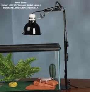 reptile habitat lighting zoo med repti l stand and