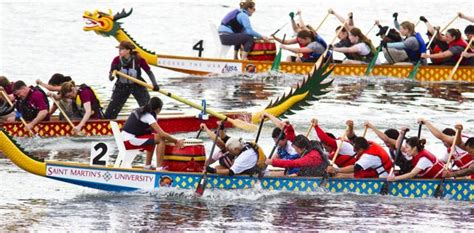 Dragon Boat Racing Olympia by Saint Martin S University Dragon Boat Festival Returns