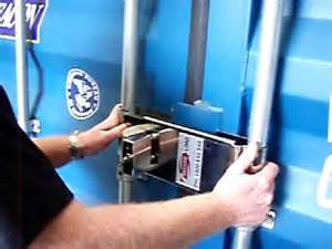 Enforcer Lock Truck Shipping Container