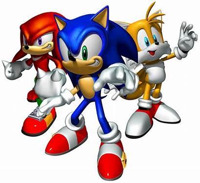 Sonic Team Wikia Heroes Artwork Hedgehog Knuckles