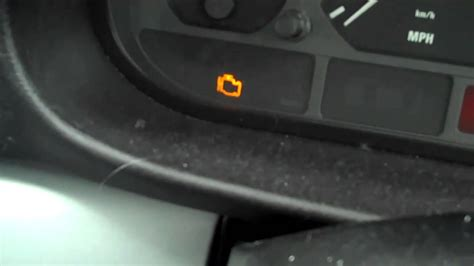 engine light on and off bmw 316 check light on youtube