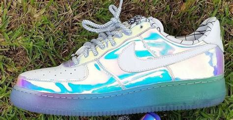 Shoes, Holographic, Nike Sneakers, Airforces, Nike Air