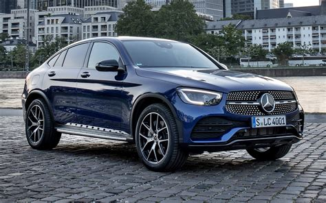 The new mercedes glc 300 e has an electric range of 29 miles and will start from £49,687, with deliveries starting in the summer. 2019 Mercedes-Benz GLC-Class Coupe AMG Line - Wallpapers ...