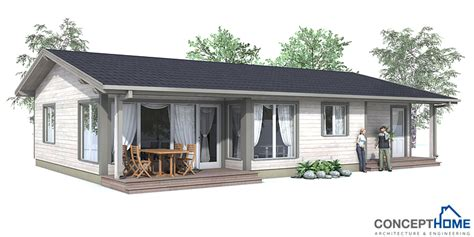 Small House Plan Ch63 In Classical Architecture. Small