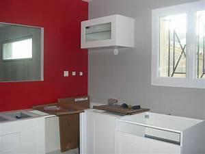Quelle Peinture Pour Appuis De Fenetre : couleur mur cuisine avec meuble blanc 13 messages ~ Premium-room.com Idées de Décoration
