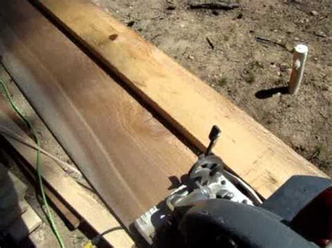 Clean Rip Cuts Without A Table Saw Youtube
