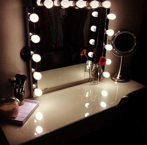 vanity table with lighted mirror ikea lighted mirror vanity table casa hannah pinterest