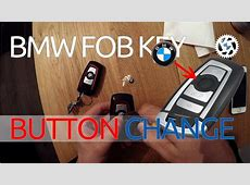 How to replace BUTTON on BMW LOGO FOB KEY Fseries f30 f31