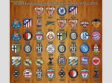 Europa League winners from 1972 to 2015 Troll Football