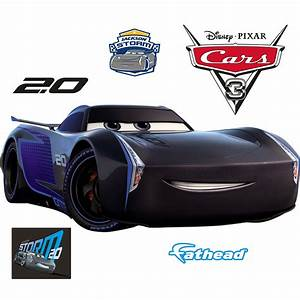 Storm Cars 3 : jackson storm cars 3 giant officially licensed disney pixar removable wall decal wall decal ~ Medecine-chirurgie-esthetiques.com Avis de Voitures