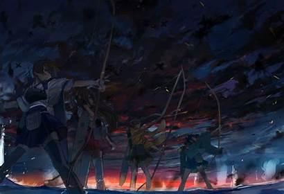 Kancolle Kantai Kaga Akagi Hiryuu Souryuu Anime