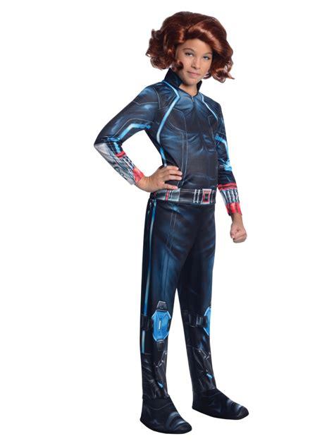 Marvel Little Girls Black Widow Avengers Halloween Costume