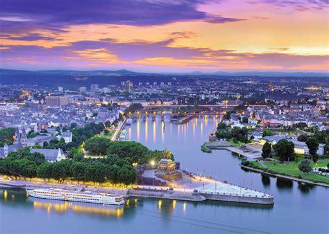 In Koblenz by Koblenz Deutsches Eck 1000 Teile Ravensburger Puzzle