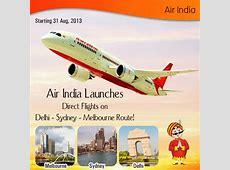 Air India Launches Direct Flights on Delhi Sydney