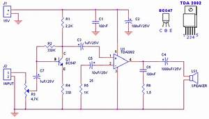 Amplifier Of Acoustic Frequencies And Preamplifier