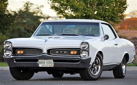 Pontiac Gto Full Hd Wallpaper And Background Image