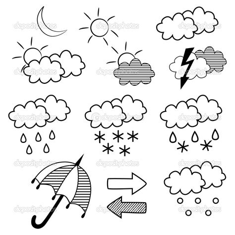 Coloring Weather by 11 Best Images Of Weather Report Worksheet Weather