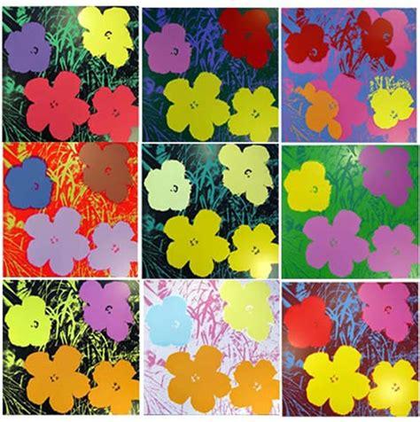 Cassie Stephens Diy A Warhol's Flowers Printed Dress