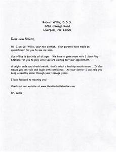 new dentist office sample business letter sample With new dentist introduction letter to patients