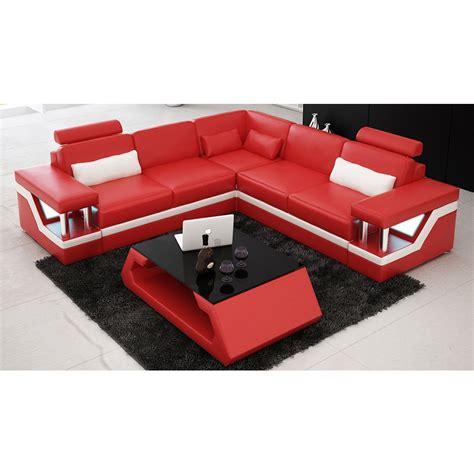 canape d angle destockage canapé d 39 angle design en cuir véritable tosca l lit