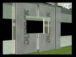 ConstruccionTV USG Sistema para muro exterior Durock YouTube
