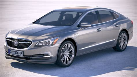 Buick Lacrosse Models by Buick Lacrosse 2018 Model Turbosquid 1229052
