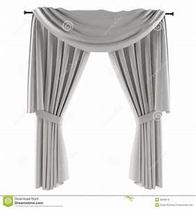 Rideau Gris Et Blanc : rideau gris blanc images libres de droits image 35609119 ~ Teatrodelosmanantiales.com Idées de Décoration