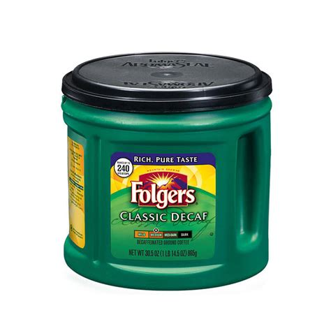 Perfect for a quick cup in the morning when you don't want to wait for a brewed cup or make a caffeine run to the nearest cafe! Folgers Decaf Coffee Caffeine Content - Image of Coffee and Tea