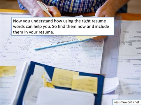 the power of buzzwords what words to use in resume