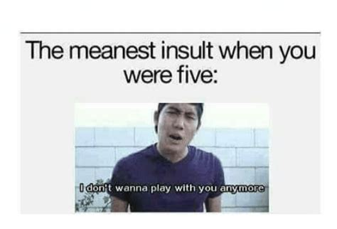 Meanest Memes 25 Best Memes About Meanest Insult Meanest Insult Memes