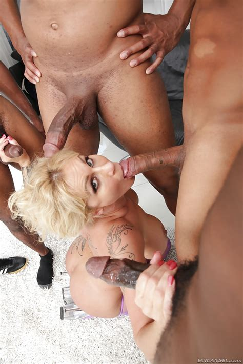 Busty Blonde Milf Ryan Conner Takes Interracial Cum On