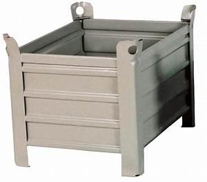 Caisse Palette Métallique : caisses et palettes br equipement groupe bewop ~ Edinachiropracticcenter.com Idées de Décoration