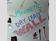 Magnetic DryErase Wall! with Pictures