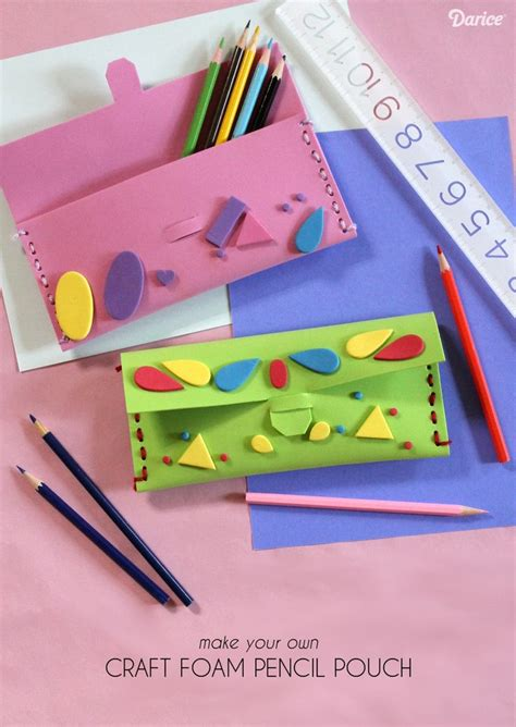 This Simple Foam Diy Pencil Case Is Endlessly Customizable
