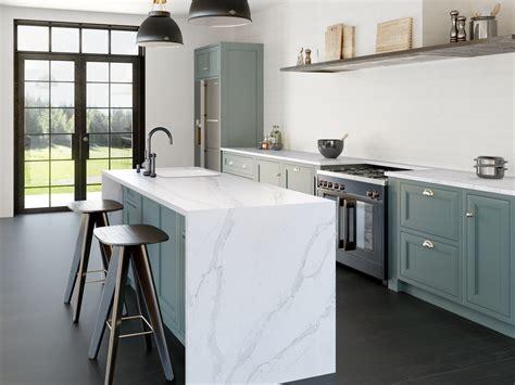 silestone eternal calacatta gold quartz kitchen remodel