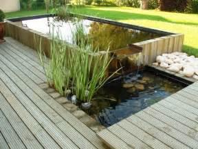 bassin int 233 gr 233 dans une terrasse bois cr 233 ation les bojardins bois cr 233 ation