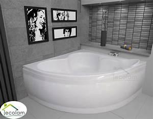 Badewanne 120 Cm : badewanne wanne eckwanne eckbadewanne 120x120 130x130 cm sch rze ablauf ebay ~ Markanthonyermac.com Haus und Dekorationen