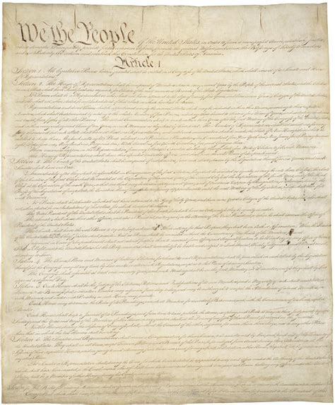 Fileconstitution Of The United States, Page 1jpg
